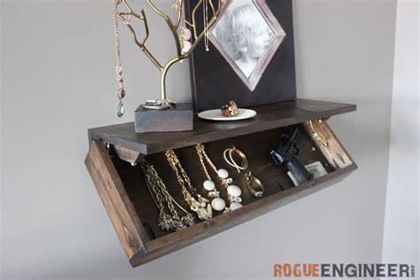 Shelf S Secret diy secret floating shelf free plans rogue engineer