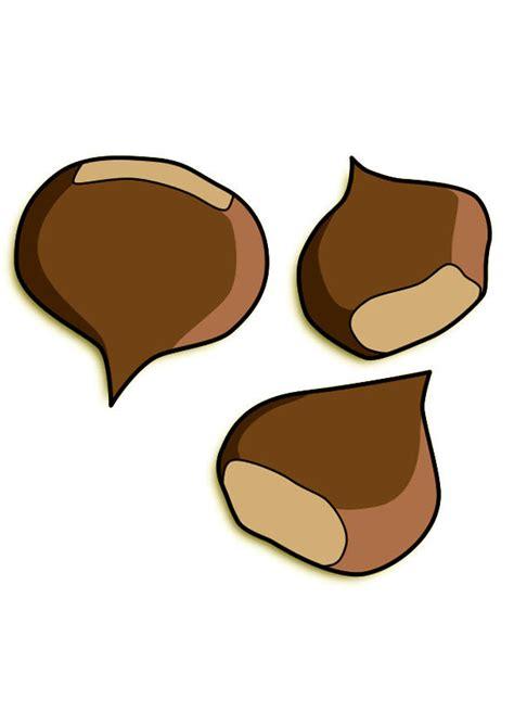 clipart castagne immagine illustrazione castagne immagini per uso
