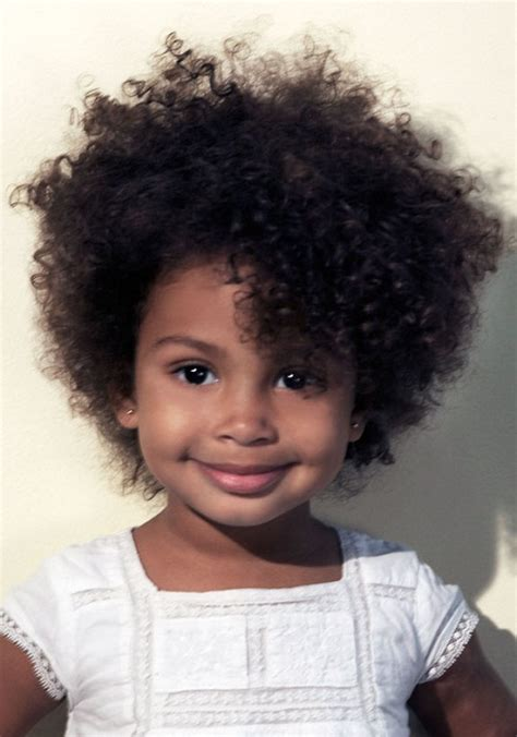 short hairstyles for curly girls kids