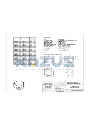 smd power inductors datasheet cdrh6d38 5r0 datasheet cdrh6d38 smd power inductor cdrh6d38 5r0 pdf by ait components ltd