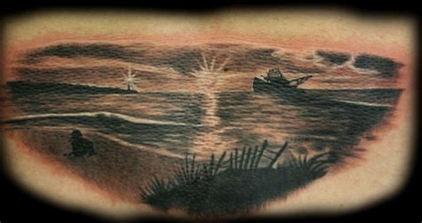beach sunset tattoo thok tattoos