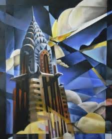Chrysler Building Painting The Chrysler Building Painting Fabulous