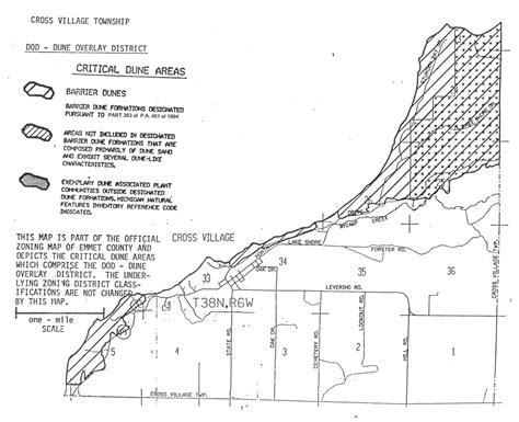 critical dunes emmet county critical dunes emmet county