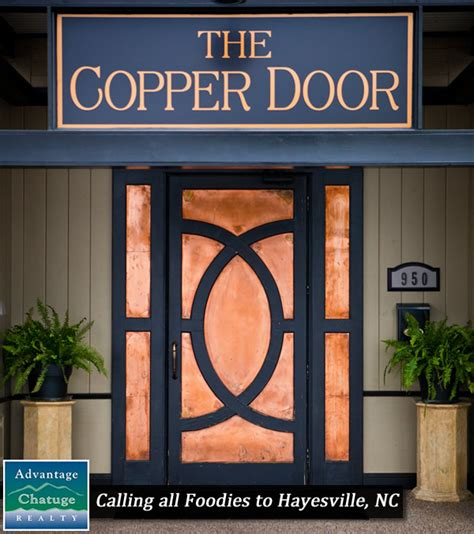Copper Door Hayesville Nc by Calling All Foodies To Hayesville Nc