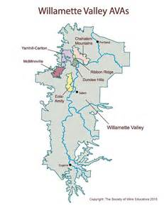 new map of the willamette valley wine wit and wisdom