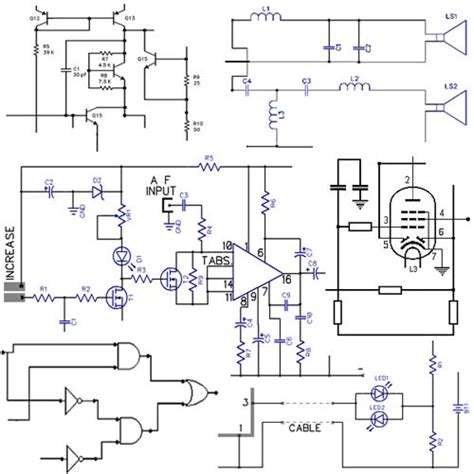 electronic diagrams and schematics electronic circuits diagrams free design projects