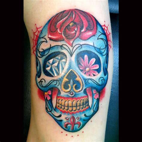 tattoo old school teschio tatuaggio teschio by artevivatattoo