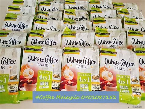 Durian White Coffee Ipoh 4in1 white coffee durian c 224 ph 234 trắng sầu ri 234 ng 4in1 5giay