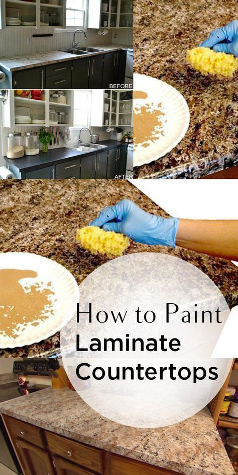 How To Paint Countertops 17 best ideas about painting laminate countertops on