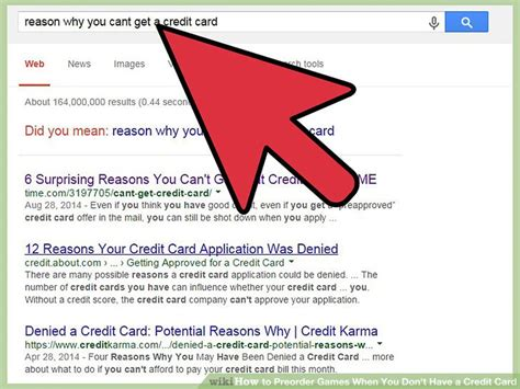 You Dont To A Credit Rating To Be Able To Borrow Funds how to preorder when you don t a credit card 5