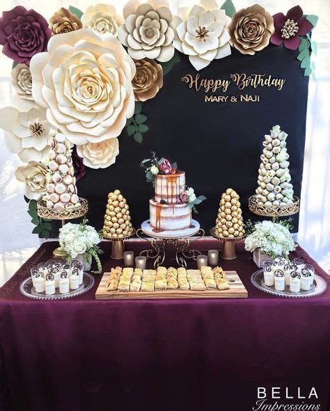 gold themes name burgundy and gold rustic glam bella impressions