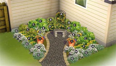 Corner Garden by Northwest Gardening Corner Garden Plan