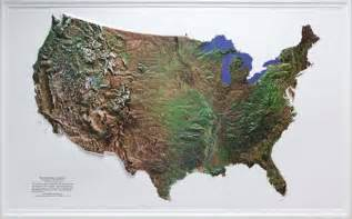united states topography map raised relief maps 3d topographic map united states series