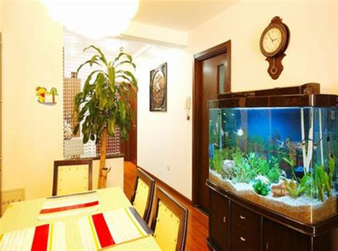 fish tank living room the feng shui of living room feng shui tips