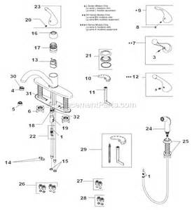 Delta Kitchen Faucet Parts List Delta Faucet 400 Dst Parts List And Diagram Ereplacementparts