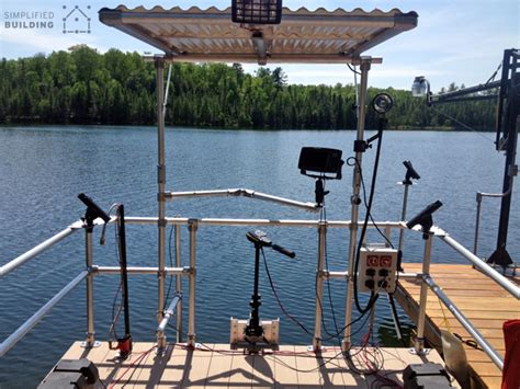 boat canopy rails pontoon boat restoration and railing upgrade simplified