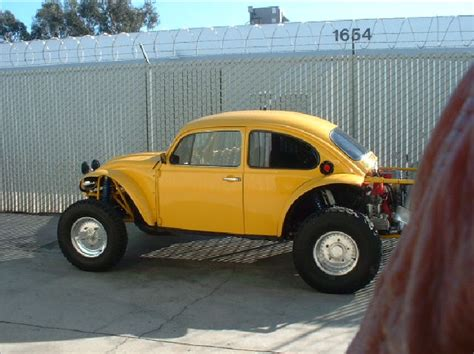 yellow baja bug penhall fabrication yellow baja bug vw projects