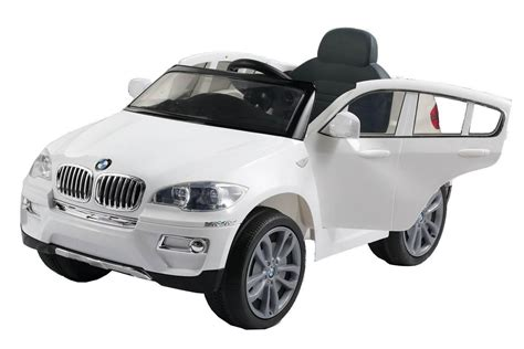 bmw jeep white new bmw x6 electric battery kids ride on car parental