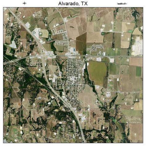 alvarado texas map aerial photography map of alvarado tx texas