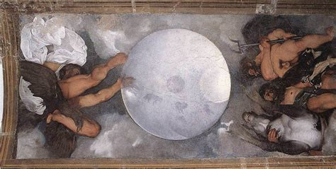 What Is Painted On The Ceiling Of The Sistine Chapel jupiter neptune and pluto 1597 by caravaggio