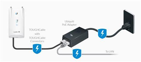 Ubiquiti Poe 24v 0 5a Black ubiquiti networks poe 24 24w g us poe adapter injector