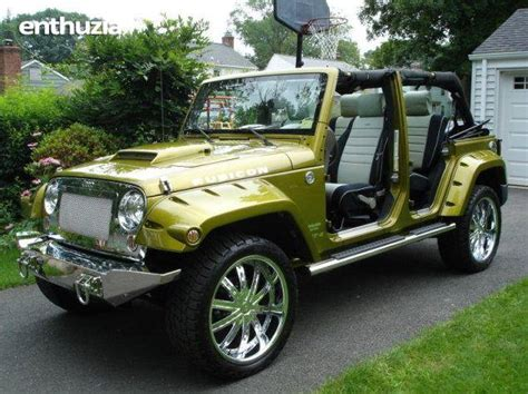 4 door jeep wranglers for sale 2007 jeep wrangler jk rubicon srt 6 for sale california