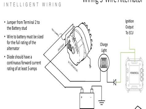 3 wire gm alternator wiring diagram marine wiring