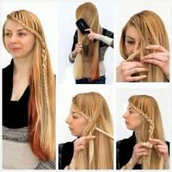 Easy braided hairstyles tutorial side braid ideas popular haircuts