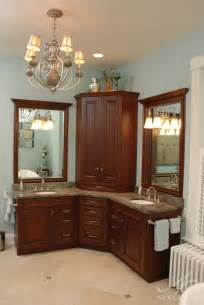 best 25 corner bathroom vanity ideas on his