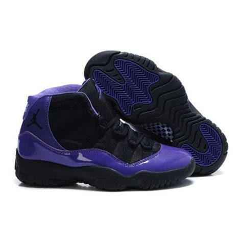 purple and black sneakers air 11 zoom air high black purple womens sneakers