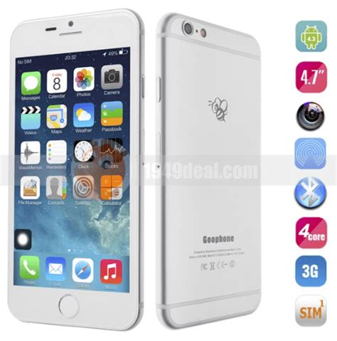 clone mobile iphone 6 clone comes in market for 153 only feature of