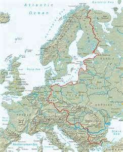 what is the iron curtain iron curtain bike trail from the barents sea to the black
