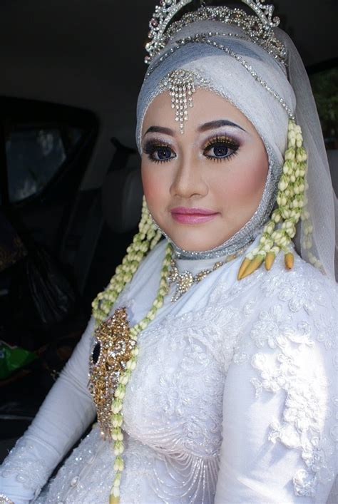 model hijab pengantin tutorial make up pengantin newhairstylesformen2014 com