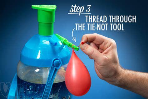 tie not battle by kaos portable water balloon