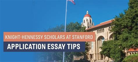 Stanford Mba Application Tips by Hennessy Scholars At Stanford Application Tips