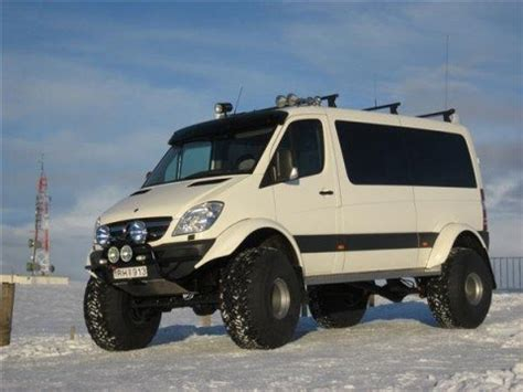lifted mercedes van lifted sprinter van in iceland gt gt 4x4 off roads