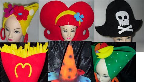 sombreros divertidos de mujer como hacerlos de goma eva titeres de goma espuma sombreros de goma espuma