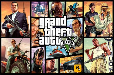 Aliexpress Home Decor by Grand Theft Auto V 5 Gta 5 Game Posters Hd Print On Silk