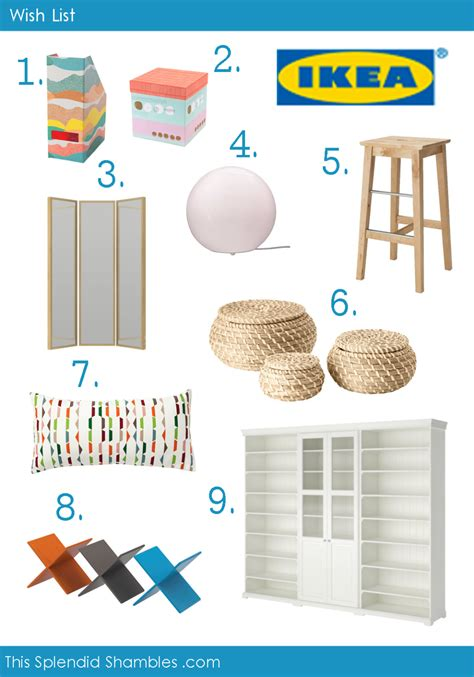 List Ikea wish list archives