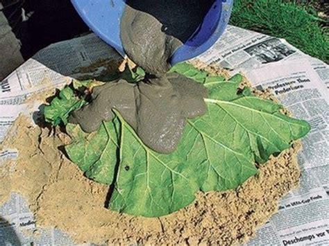 deko zäune garten wonderful diy sand cast birdbath