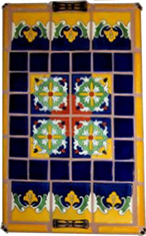 mex crafts imports mexican tile decorating a tray mexican home decor gallery