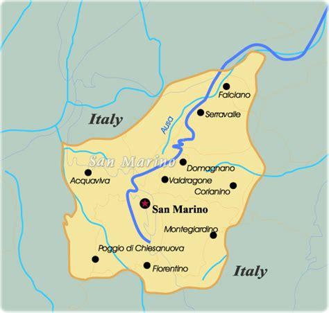 san marino on map of europe map san marino travel europe