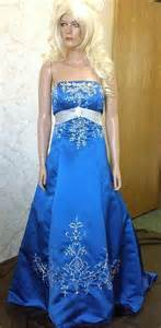 royal blue and silver wedding dresses colorful bridal gowns color accents bridal gown
