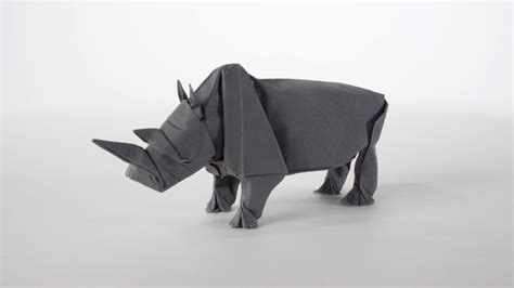 how to make origami rhino origami rhino unfolding mabona origami x stoptrick the