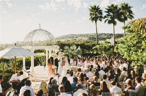 Orange County Botanical Gardens Wedding Ceremony At The St Regis Monarch Botanical Garden Wedding Locations Pinterest