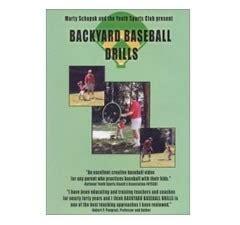 backyard baseball drills dvd by marty schupak