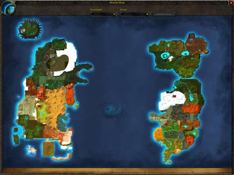 wow map world of warcraft alpha map image mod db