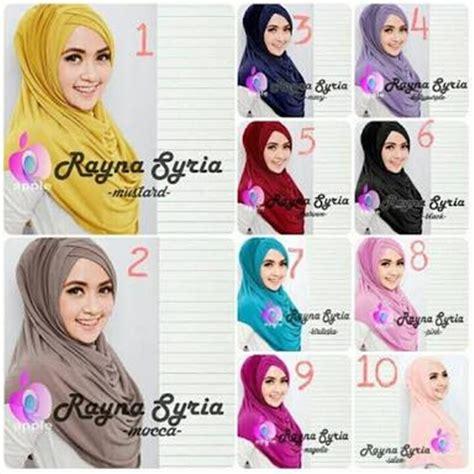 Jilbab Instan Jakarta jilbab instan rayna premium trend terbaru bundaku net