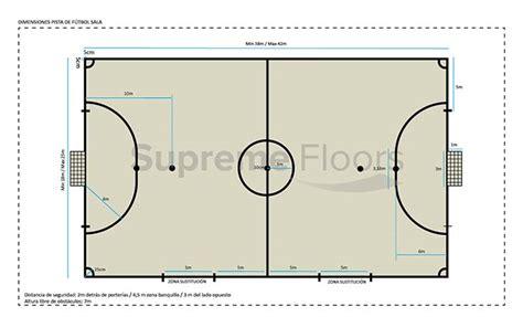 dimensiones pista futbol sala 191 qu 233 dimensiones debe tener una pista deportiva