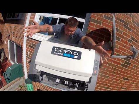 throw it out the window with a #gopro on it youtube